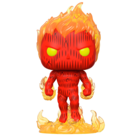 FUNKO POP figure Marvel Fantastic Four Human Torch (559)