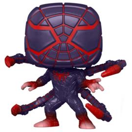 FUNKO POP figure Marvel Spiderman Miles Morales Programmable Matter Suit (773)