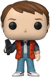 FUNKO POP figure Back To The Future Doc Marty in Puffy Vest (961)