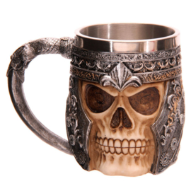 Skull Warrior Tankard