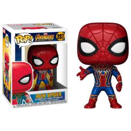FUNKO POP figure Marvel Avengers Infinity War Iron Spider (287)
