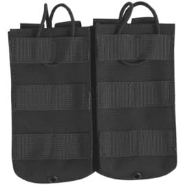 VIPER Quick Release Double Mag Pouch (BLACK)