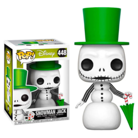 FUNKO POP figure Disney Nightmare Before Christmas NBX Snowman Jack (448)