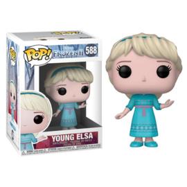 FUNKO POP figure Disney Frozen 2 Young Elsa (588)