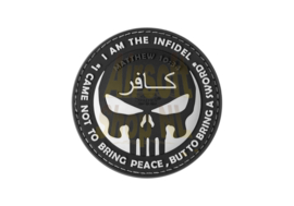 JTG The Infidel Punisher Rubber Patch