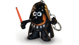 Disney Star Wars Darth Vader Mr. Potato Head keychain / ring