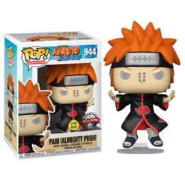 FUNKO POP figure Naruto Pain Almighty Push Shinra Tensei *Glows in the Dark* - Exclusive (944)