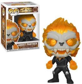 FUNKO POP figure Marvel Infinity Warps Ghost Panther (860)