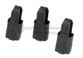 Magpul. 9mm/SMG Rubber Magpul. 3Pack. Blk