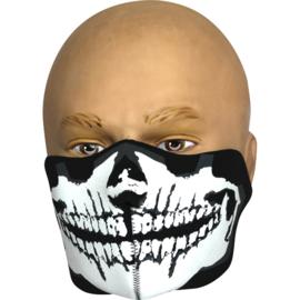 VIPER Neoprene Half Face Mask - SKULL