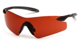 PYRAMEX Intrepid II Glasses (Class 1) - SUN BLOCK BRONZE