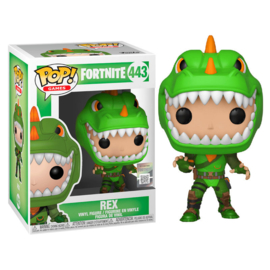 FUNKO POP figure Fortnite Rex *Glows in the Dark* (443)
