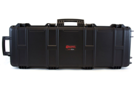 NUPROL Large Rifle Hard Case - Wave Foam (BLACK)