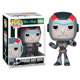 FUNKO POP figure Rick & Morty Purge Suit Rick (566)