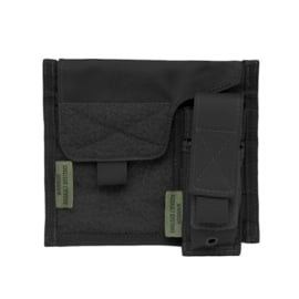 Warrior Elite Ops MOLLE Large Admin Panel with Pistol/Torch Pouch (4 COLORS)