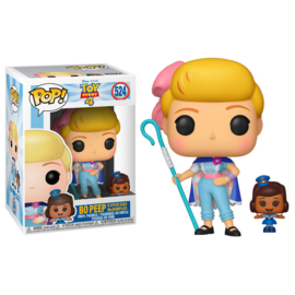 FUNKO POP figure Disney Toy Story 4 Bo Peep with Officer McDimples (524)