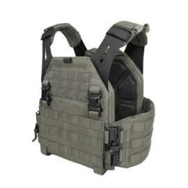 Warrior Elite Ops MOLLE LPC Low Profile Carrier V1 Solid Sides (RANGER GREEN)