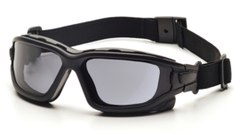 PYRAMEX I-Force Slim Goggle Dual Anti-Fog Lens (Class 3) - GREY