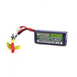 Turnigy nano-tech 300mah 2S 35~70C Lipo Battery (JST)
