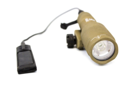 NUPROL NX600S Short Torch - Flashlight (TAN)
