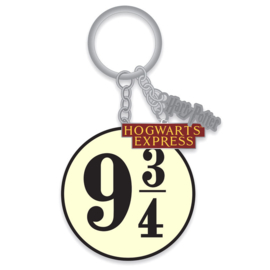 Harry Potter Hogwarts Express 9 3/4 keyring