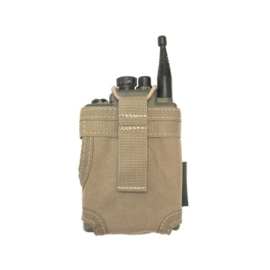 Warrior Elite Ops MOLLE Personal Role Radio Pouch (COYOTE TAN)