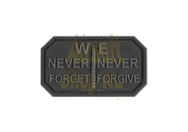 JTG Never Forget Rubber Patch