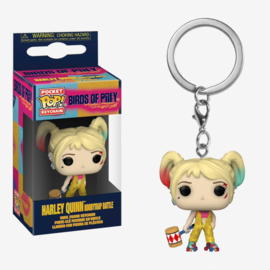 FUNKO Pocket POP Keychain DC Birds of Prey Harley Quinn Boobytrap Battle