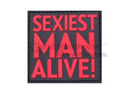 JTG Sexiest Man Alive Rubber Patch - Blackmedic