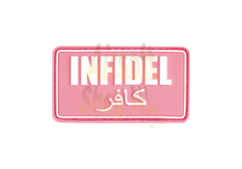 JTG Infidel Rubber Patch (PINK WHITE)