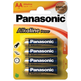 AA PANASONIC Penlite Power Alkaline Battery - 4pcs