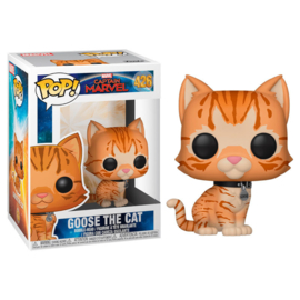 FUNKO POP figure Marvel Captain Marvel Goose the Cat (426)