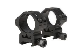 THETA OPTICS Two-part 30mm optics mount for RIS rail (LOW)