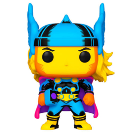FUNKO POP figure Marvel Black Light Thor (650)
