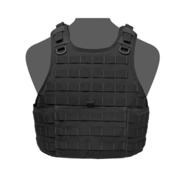 Warrior Elite Ops MOLLE RICAS Compact Base Plate Carrier (BLACK)