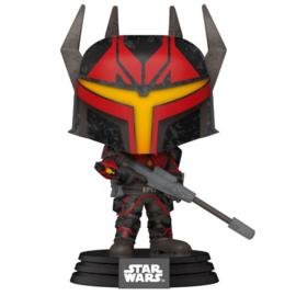 FUNKO POP figure Star Wars Clone Wars Gar Saxon (411)