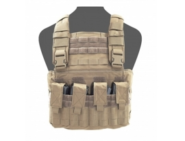Warrior Elite Ops MOLLE Gladiator Chest Rig (COYOTE TAN)