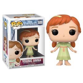 FUNKO POP figure Disney Frozen 2 Young Anna (589)