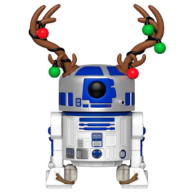 FUNKO POP figure Star Wars Holiday R2-D2 with Antlers (275)
