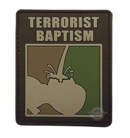 Tru Spec 5-Star  Morale Patch, TERRORIST BAPTISM