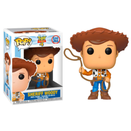 FUNKO POP figure Disney Toy Story 4 Woody (522)