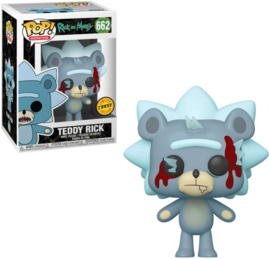 FUNKO POP figure Rick & Morty Teddy Rick - Chase (662)