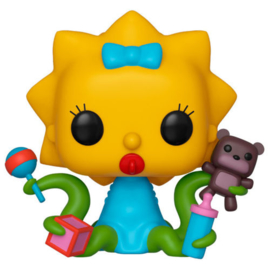 FUNKO POP figure Simpsons Maggie Alien (823)