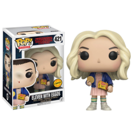 FUNKO POP figure Stranger Things Eleven with Eggos - Chase (421)