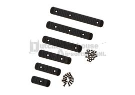 Magpul Look Keymod & M-LOK Rail Set 6-pack Black