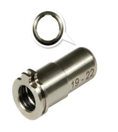 Maxx Model CNC Titanium Adjustable Nozzle. 19mm-22mm