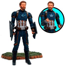 Marvel Avengers Captain America articulated figure - 18cm