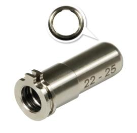 Maxx Model CNC Titanium Adjustable Nozzle. 22mm-25mm