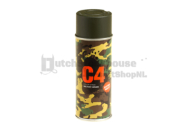 C4 Mil Grade Color Spray Paint / Verf (OD Green)