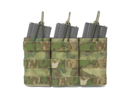 Warrior Elite Ops MOLLE Triple Molle Open M4 5.56mm Mag / Bungee Retention (ATFG)